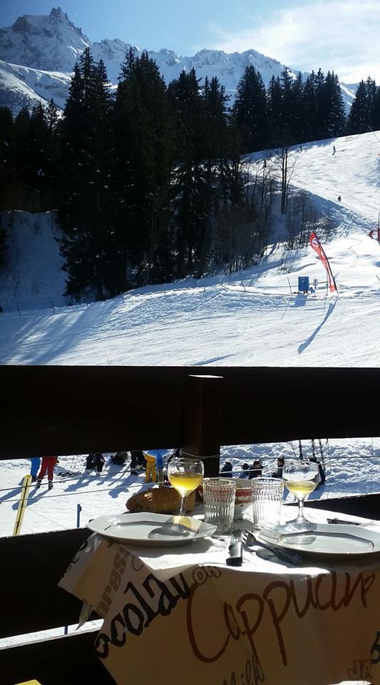 Petit Repas Balcon Valmorel 13 02 17